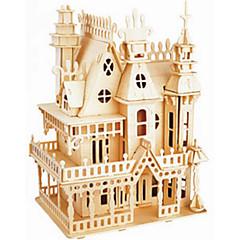 Dream Villa Wooden Simulation Stereo DIY Assembly Model Educational Toys
