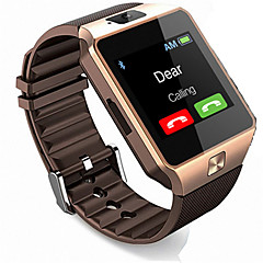 Okos karóra Kéz nélküli hívások Audió Bluetooth 2.0 Nincs SIM-kártya foglalat