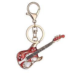 Europa i Stany Zjednoczone Nowy dzień urodzinowy prezent fabryczne realistyczne key guitar łańcucha breloczek torba Car Key zawieszka