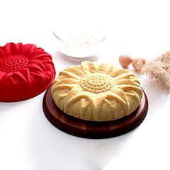 silikonowa słonecznik ciasto pleśni Niechaj piętnasty