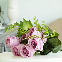 1 1 haara Silkki Ruusut Pöytäkukka Keinotekoinen Flowers 45CM