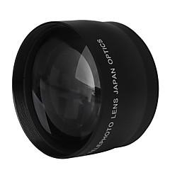 58mm 2.0x professionnelle téléobjectif pour canon 350d / 400d / 450d / 500d / 1000d / 550d / 600d / 1100d
