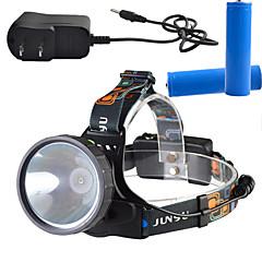 Oświetlenie Czołówki LED Other Lumenów 3 Tryb - 18650 Przyciemniany / Akumulator / Superlekkie / High PowerObóz/wycieczka/alpinizm