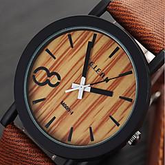 Mulheres Unissex Relógio Esportivo Relógio Elegante Relógio de Moda Relógio de Pulso Quartzo / PU Banda Vintage Legal CasualPreta Marrom