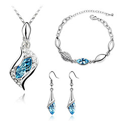 Thousands of colors  Jewelry  Bangles Jewelry set Crystal Fashion Daily 1set -9-1-1-209 2-001 3-024