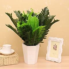 1 1 şube İpek Bitkiler Masaüstü Çiçeği Yapay Çiçekler 45CM