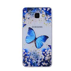 Για Με σχέδια tok Πίσω Κάλυμμα tok Πεταλούδα Μαλακή TPU για Samsung A8(2016) / A5(2016) / A3(2016) / A8 / A7 / A5 / A3