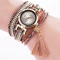 Women's Fashion Watch Wrist watch Bracelet Watch Colorful Imitation Diamond Rhinestone Quartz PU BandVintage Bohemian Charm Bangle Cool Strap Watch