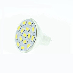MR11 GU4 GZ4 7.5W 15x5630SMD Warm White Cool White  Natural White  Green Red  Blue 900LM Led Light Bulbs (9-36V AC/DC)