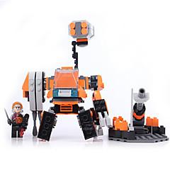Actionfigurer og kosedyr / Byggeklosser for Gift Byggeklosser Modell- og byggeleke Kriger / Maskin / Robot ABS5 til 7 år / 8 til 13 år /