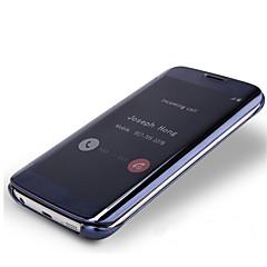 Mert Samsung Galaxy Note Galvanizálás / Flip / Átlátszó Case Teljes védelem Case Egyszínű PC Samsung Note 5