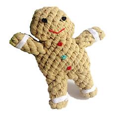고양이 장난감 강아지 장난감 반려동물 장난감 씹는 장난감 치석제거 장난감 Rope 만화 털실 직물