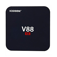 V88 RK3229 Android TV-box,RAM 1GB ROM 8GB Quad Core WiFi 802.11n Nej