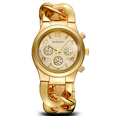 Women's Dress Watch Fashion Watch Wrist watch Bracelet Watch Water Resistant / Water Proof Punk Colorful Large Dial Shock Resistant Quartz