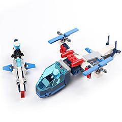 Actionfigurer og kosedyr / Byggeklosser for Gift Byggeklosser Modell- og byggeleke Luftkraft / Fighter ABS5 til 7 år / 8 til 13 år / 14