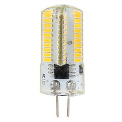 4W G4 LEDコーン型電球 T 80 SMD 3014 380 lm 温白色 / クールホワイト 明るさ調整 / 装飾用 交流220から240 / AC 110-130 V 2個