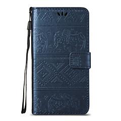 Για huawei p8 lite p9 litefull δερμάτινο πορτοφόλι με ανάγλυφο σώμα