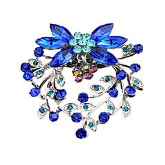 Damskie Broszki Modny luksusowa biżuteria Europejski Akrylowy Imitacja diamentu Biżuteria Na Ślub Impreza Codzienny Casual