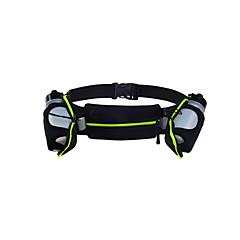 WINMAX® Unisex Muti-fuction Waterproof Light Cycling Running Belt Bag with 2 pieces PE Bottles