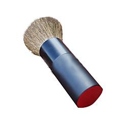 1 Powder Brush Goat Hair Portable Wood Face
