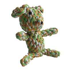 고양이 장난감 강아지 장난감 반려동물 장난감 씹는 장난감 치석제거 장난감 Rope 털실 돼지 직물