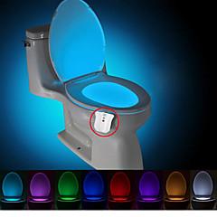 brelong aktualisiert wasserdichte Bewegung aktiviert Toilette Nachtlicht führte Toilette Licht Bad Waschraum DC4.5V