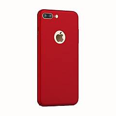 silky Shockproof Case  Body Case Solid Color Hard PC for Apple iPhone 7 Plus / iPhone 7 / 6S/ iPhone 6 plus