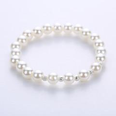 Bracelet Strand Bracelet Yoga Bracelet Alloy Imitation Pearl Party Halloween Anniversary Birthday Congratulations Business Gift Casual