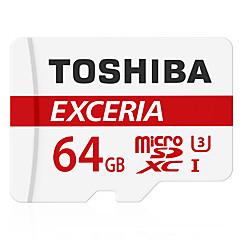 Toshiba 64 GB Micro SD kártya TF kártya Memóriakártya UHS-I U3 Class10 EXCERIA
