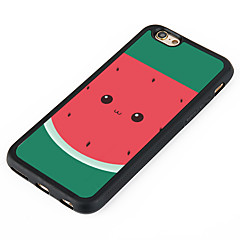 Voor iPhone 7 hoesje iPhone 6 hoesje iPhone 5 hoesje Hoesje cover Patroon Achterkantje hoesje Fruit Hard Aluminium voor Apple iPhone 7