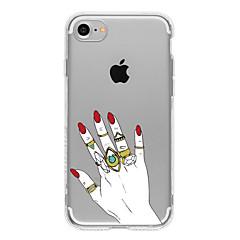 Ring TPU Case For Iphone 7 7Plus 6S/6 6Plus/5S SE