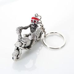 Europa i Stany Zjednoczone wysokiej klasy jakości breloczek butik kreatywny szkielet jeździć motocyklem powiesić breloczek