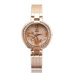 Bayanların Moda Saat Gündelik Saatler Bilek Saati Quartz / Alaşım Bant Zarif Havalı Günlük Gümüş Altın Rengi Gül AltınAltın Gümüş Gül