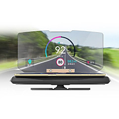 ziqiao universal móvel suporte de navegação GPS HUD cabeça-up display para o carro do telefone inteligente montar ficar titular do