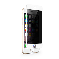 zxd 2.5d 9h pełnoekranowym prywatności Anti Spy szkła hartowanego do Apple iPhone 7 PLUS ochronną folią ochronną