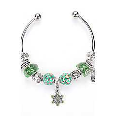 Europe and United States DIY Bracelet Open Crystal Bracelet Fashion Crystal Glass Beads Bracelet Jewelry Wholesale Sales