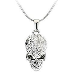 Ανδρικά Γυναικεία Κρεμαστά Κολιέ Skull shape Κράμα Μοντέρνα Εξατομικευόμενο Κοσμήματα Για Causal