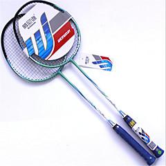 Badmintonracket Ej Deformerbar Tålig Aluminium Legering Ett par för Inomhus Utomhus Prestanda Öva Fritid Sport