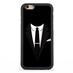 Suits Pattern Design Metal CoatedTPU Frame Back Case for iPhone 7 7 Plus 6s 6 Plus SE 5s 5c 5 4s 4