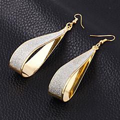 עגיל עגילי טיפה תכשיטים Party / יומי / קזו'אל סגסוגת נשים צבעים ממוינים