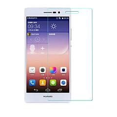 beittal® 0.26mm afrundet kant transparent 9h hærdet glas membran skærmbeskytter til Huawei Ascend p7