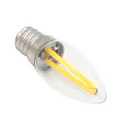 1.5W E12 LED Globe Bulbs T 2 COB 100-120 lm Warm White Decorative AC 220-240 V 1 pcs