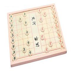 Brettspill sjakkspill Pedagogisk leke for Gift Byggeklosser Hobbyprodukter Sirkelformet Firkantet Tre 8 til 13 år Regnbue Leketøy