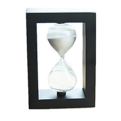 Hourglasses Novelty & Gag Toys Circular Square Glass Black White 5 to 7 Years 8 to 13 Years 14 Years & Up
