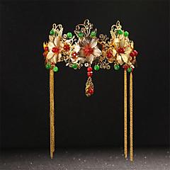 Lolita Accessoires Klassiek en Tradtioneel Lolita Hoofddeksels Geïnspireerd door vintage Gouden Lolita-accessoires Hoofddeksels Voor