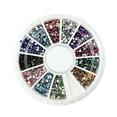 2000 Nagelkunst decoratie Strass parels make-up Cosmetische Nagelkunst ontwerp