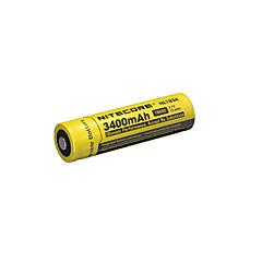 nitecore nl1834 3400mAh 3.7V 12.6wh 18650 li-ion akkumulátor