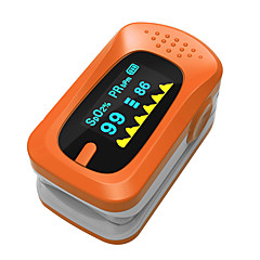 SPortguard Fingertip Pulse Oximeter SpO2 Heart Rate Monitor - Orange