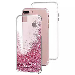 Varten Virtaava neste Etui Takakuori Etui Kiiltävä Kova PC varten Apple iPhone 7 Plus / iPhone 7 / iPhone 6s Plus/6 Plus / iPhone 6s/6