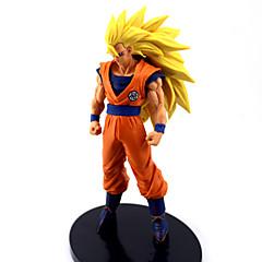 Anime Akciófigurák Ihlette Dragon Ball Goku Anime Szerepjáték Kiegészítők ábra Narancssárga PVC